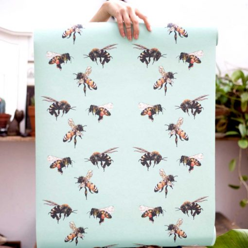 Louis-Masai-Save-The-bees-wallpaper