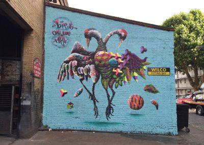 Whooping Crane, London