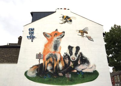 Badgers & Foxes, London