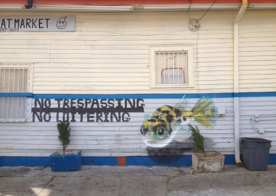 Pufferfish, New Orleans